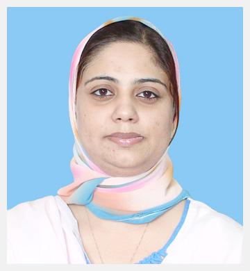 Sadia Masood – Project Director, PMU