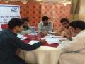 Participants developing Business Plans