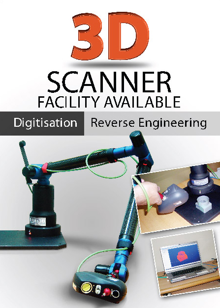 3D-Scanning/Reverse Engineering Services nida lahore